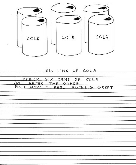david shrigley cola