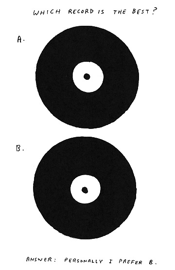 david shrigley which_record