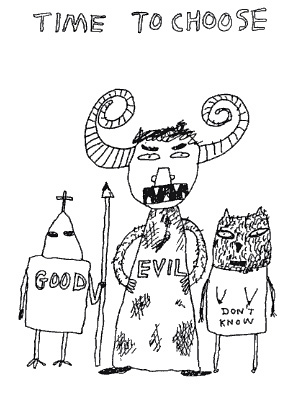 david shrigley_time_to_choose