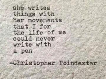 she writes 2