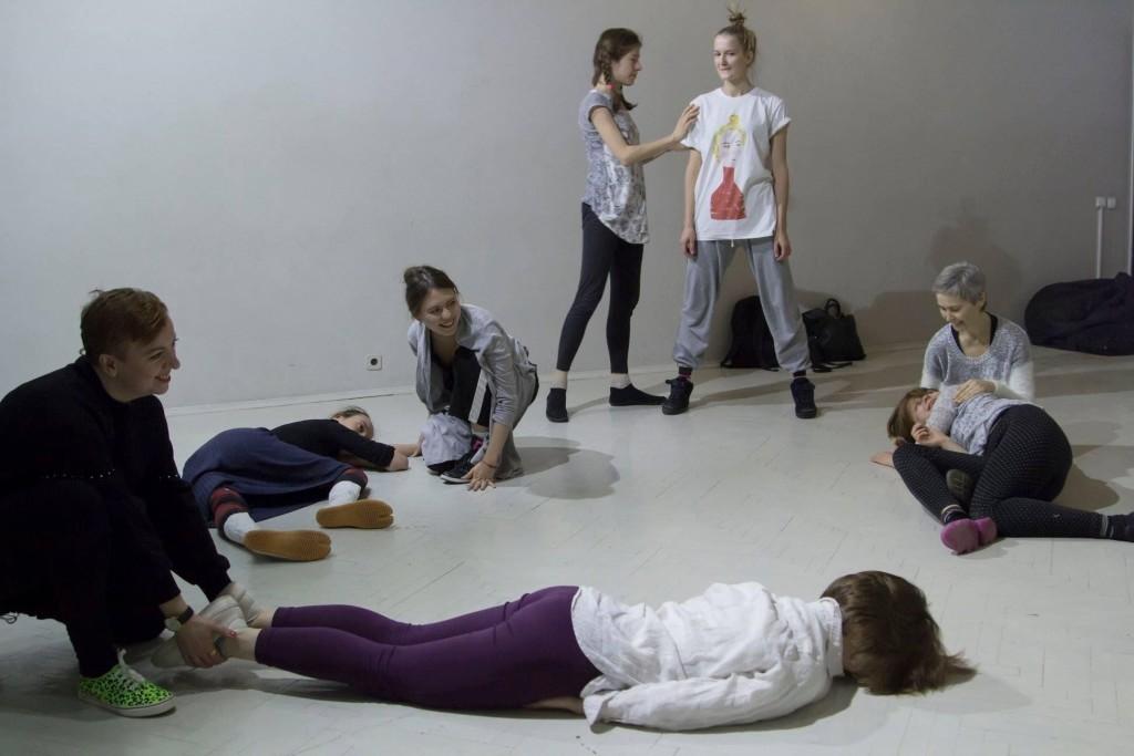 «Лаборатория самозванства» #1. ЗАНИМАТЬ СВОЕ МЕСТО. ГРАУНД Ходынка. Автор фото: Аня Белоусова